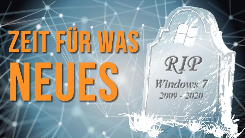 Ende von Microsoft 7 Support
