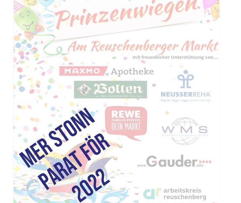 Prinzenwiegen am Reuschenberger Markt